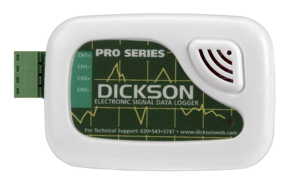 Dickson Sm320 Data Logger : Es voltage data logger from dickson instruments